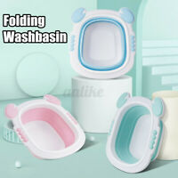 Folding Newborn Baby Washbasin Portable Travel Infant Cleaning Bath Tubs Basin
