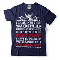 Valhalla Viking Warrior T-Shirt