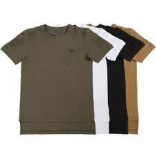 Camisetas de niño de 2 a 16 años manga corta color principal negro