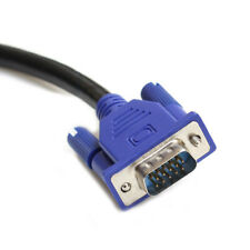 VGA Cable SVGA Monitor Cable M/M 3Ft Male to Male Computer LCD LED Cord 3 Ft