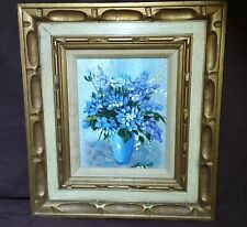 Vintage Oil Painting, Still Life, Flowers, Signed and Framed, Beautiful STUNNING