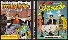 DYLAN DOG SPECIALE 8 LABIRINTI DI PAURA CON ALBETTO GROUCHO - OTTOBRE 10/1994