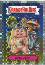 Garbage Pail Kids Chrome Series 1 X Fractor Refractor Base Card 22a JUNKY JEFF