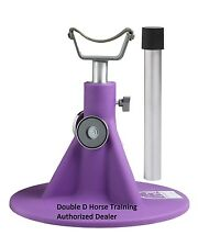 PURPLE HOOFJACK Horse SIZE farrier stand, Hoof Jack equine Trimming Shoe Natural