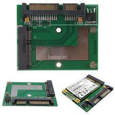 mSATA SSD to 2.5'' SATA 6.0 Gps Adapter Converter Card Module Board Pad Pcie New