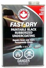 Fast Dry Rubberized Undercoating sound deadening Gallon DOMINION SURE SEAL 1089