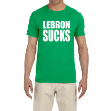 Boston Celtics Lebron James Sucks T-Shirt