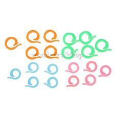 Split Ring Spaltring Stitch Knitting Markers Pack of 20 mit 2 Größen