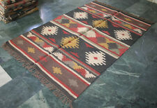 "Vintage Turkish Classic Antalya Kilim Rug 48""x72""INCHES Area Rug Kilim Carpet"