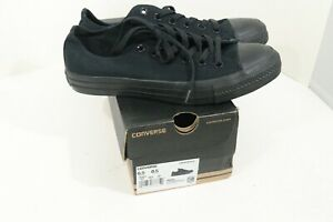 Converse Chuck Taylor All Star Ox Men 6.5 Women 8.5 Shoes Sneakers Black Low Top