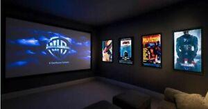 Movie Lightbox LED Backlit Display CINEMA Kids Rooms Movie Posters
