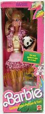 ANIMAL LOVIN' BARBIE DOLL AND PANDA BEAR NRFB