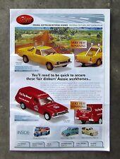 TRAX CATALOGUE 2007 Brochure 1/43 DieCast FALCON HZ UTE VAN VB VC COMMODORE GTS