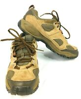 New Balance Men's 642 V2 Brown Leather Trail Walking Hiking Shoes Sz 8