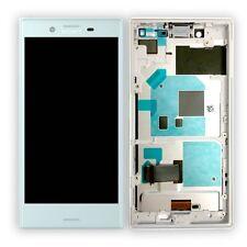 Sony Écran LCD complet avec Cadre pour Xperia x Compact F5321 Bleu Échange Neu