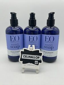 EO Sulfate-Free Moisturizing Hand Soap French Lavender 12 Oz each 3 Count F SHIP