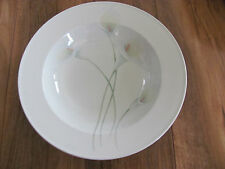 Mikasa Intaglio Long Stems Calla Lilies- New -Rim Soup Bowl(s) - Up to 8 Avail