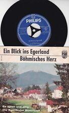 Die Egerländer Blasmusik *1964 *Ein Blick ins Egerland * Böhmisches Herz *SELTEN