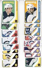 14/15 OPC Winnipeg Jets Retro 16 card Team Set - Byfuglien Pavelec +
