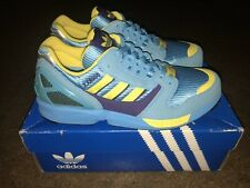2004 ADIDAS TORSION ZX 8000 AQUA/YELLOW BRAND NEW SIZE 8 EXTREMELY RARE!