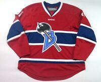 Reebok D.C. Barbarians Hockey Jersey Authentic HNA Red Size Medium