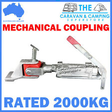 MECHANICAL ZINC POLY OFF-ROAD COUPLING HITCH 50MM 2000KG OVERRIDE TRAILER PART