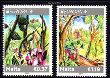 Malta 2011 Forests - Europa SG1686 - 1687 Unmounted Mint