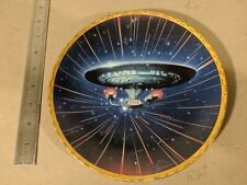 Star Trek USS Enterprise NCC-1701-D Voyagers Collector Plate #0516A FREE UK POST