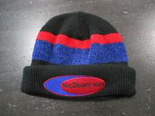 Watl Disney World Beanie Hat Cap Knit Skull Skully Black Red WDW Theme Park