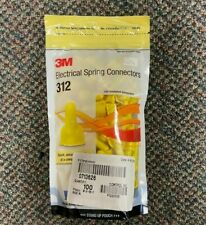 New Listing3m Electrical Spring Connectors 312 Yellow 100 Per Package Usa