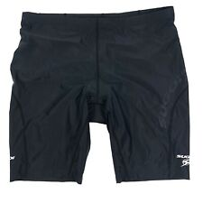 Sugoi Black Cycling Shorts Lightly Padded XXL Small Pocket