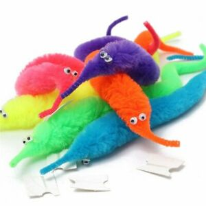 6Pcs Magic Trick Wiggly Wriggly Worm Christmas Stocking filler gift kids UK