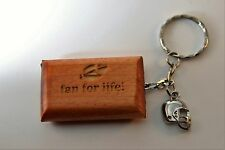 Football Wooden Keychain  Engraved, Personalize with your team, name or saying!