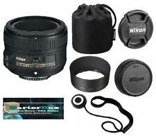 50mm 1.8 Nikon Nikkor 50 mm F/1.8G Fx As G Swm Af-s Sic M/a Lens + Free Lens Cap