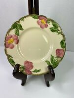 "Antique Franciscan Desert Rose Bread Plate 6-1/2"" 1940-1947 Mark EXCELLENT USED"