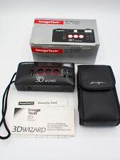 Vintage ImageTech 3D WIZARD 35mm 3 DIMENSIONAL CAMERA Case Strap Instructions