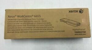 106R02750-Genuine XEROX Yellow Metered Toner Cartridge, OEM
