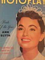 Vintage Collectible Movie Magazine Photoplay Ann Blyth Cover June 1953