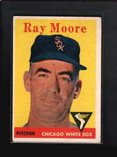 1958 TOPPS #249 RAY MOORE VG-EX D5349