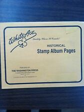 1996 White Ace Artcraft First Day Cover FDC Album Pages Part 1, NEW!!!