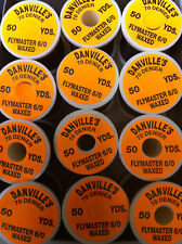 DANVILLE'S FLYMASTER FLYTYING THREAD  VARIOUS  COLOURS ⭐FREE🇬🇧POSTAGE⭐