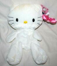 "2013 Build A Bear Hello Kitty White Plush 17"" Bow & Tags Unstuffed - New - Marks"