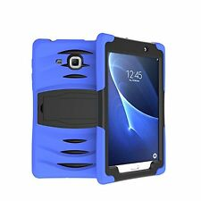Heavy Duty Shock Drop Proof Case Cover for Galaxy Tab a 7 Inch T280/t285 Blue
