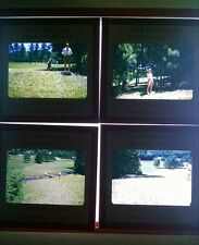 4 35mm Kodachrome slides from Caledonia golf club june 1954 Fayetteville PA