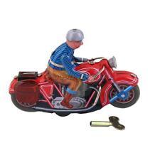 Jouet Mécanique Ancien Vélo à moteur Métal Collection Enfant