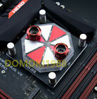 MSC Resident Evil Umbrella BIOHAZARD MOD Intel 115X CPU Water cooling block RGB