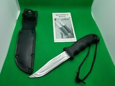 Cutco 5719 Je Clip-Point Outdoor Knife With Double-D Serrated Edge