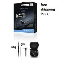 New Sennheiser M2IEi Momentum In Ear Headphones for Apple iOS Smartphones BLACK