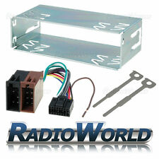 Kenwood Car Stereo Radio Fitting Kit Cage Removal Keys ISO Lead Harness Wiring