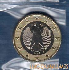 Allemagne 2009 1 Euro D Munich FDC provenant coffret 60000 exemplaires